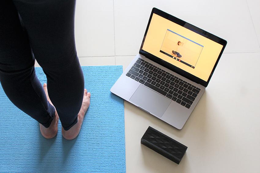オンラインフィットネスの体験レッスン予約・申し込み方法、準備するもの